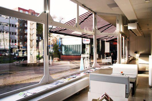 Ausblick und Lounge